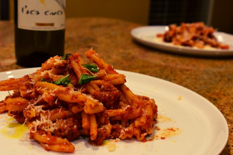 Caleb's Tuscan Pasta Sauce