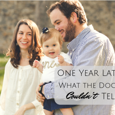 One Year Later: What the Doctors Couldn't Tell Us